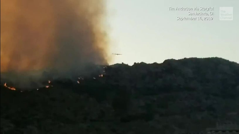 Homes Evacuated from 'Horseshoe' Wildfire in Southern California