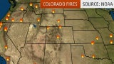 Several Wildfires Burning in Colorado, Prompting Evacuations
