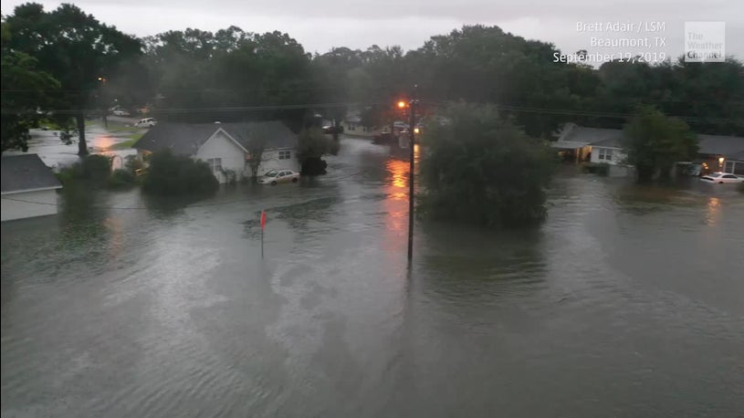 Massive Rains Pound SE Texas, Flooding Causes Gov. Abbot to Declare State of Disaster [VIDEO]