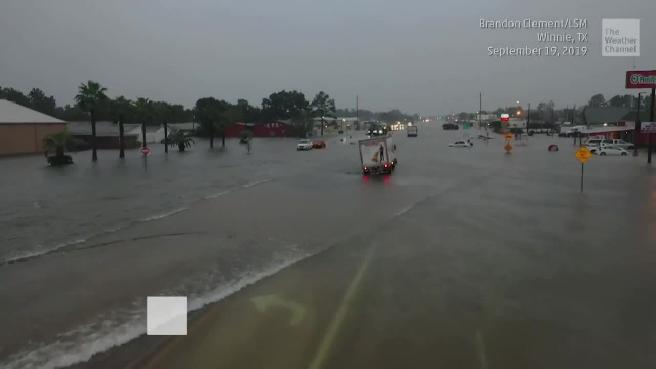 Catastrophic Flooding in Southeast Texas