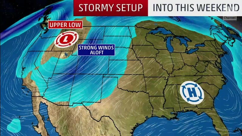 Severe Weather Threat from Plains to Northeast