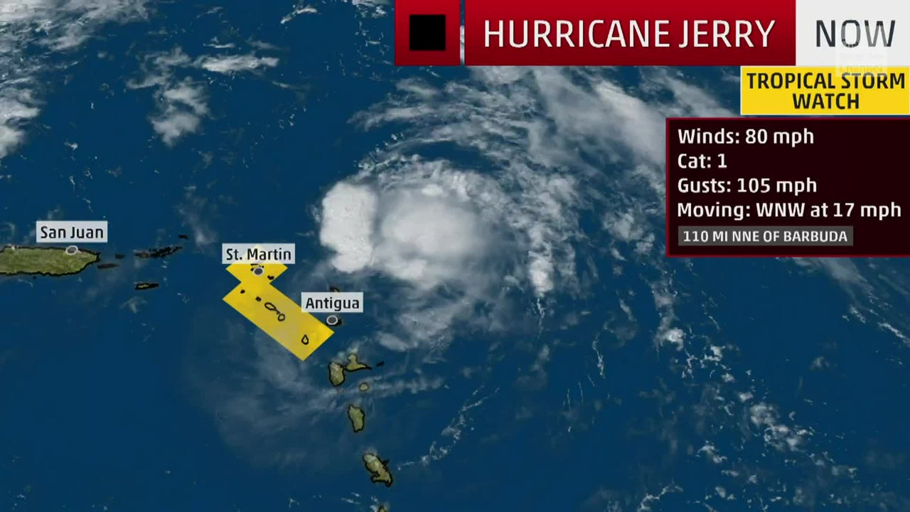 Hurricane Jerry could threaten Bermuda next week which is cleaning up after being battered by Hurricane Humberto.