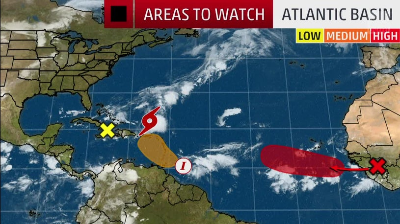 Tropical Activity Surging in the Atlantic