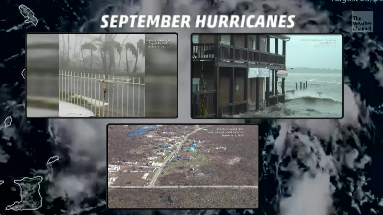 Atlantic Basin Sees String of Busy Septembers