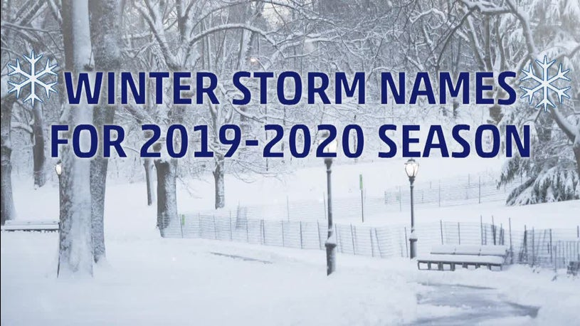 Winter Storm 2020.The Weather Channel