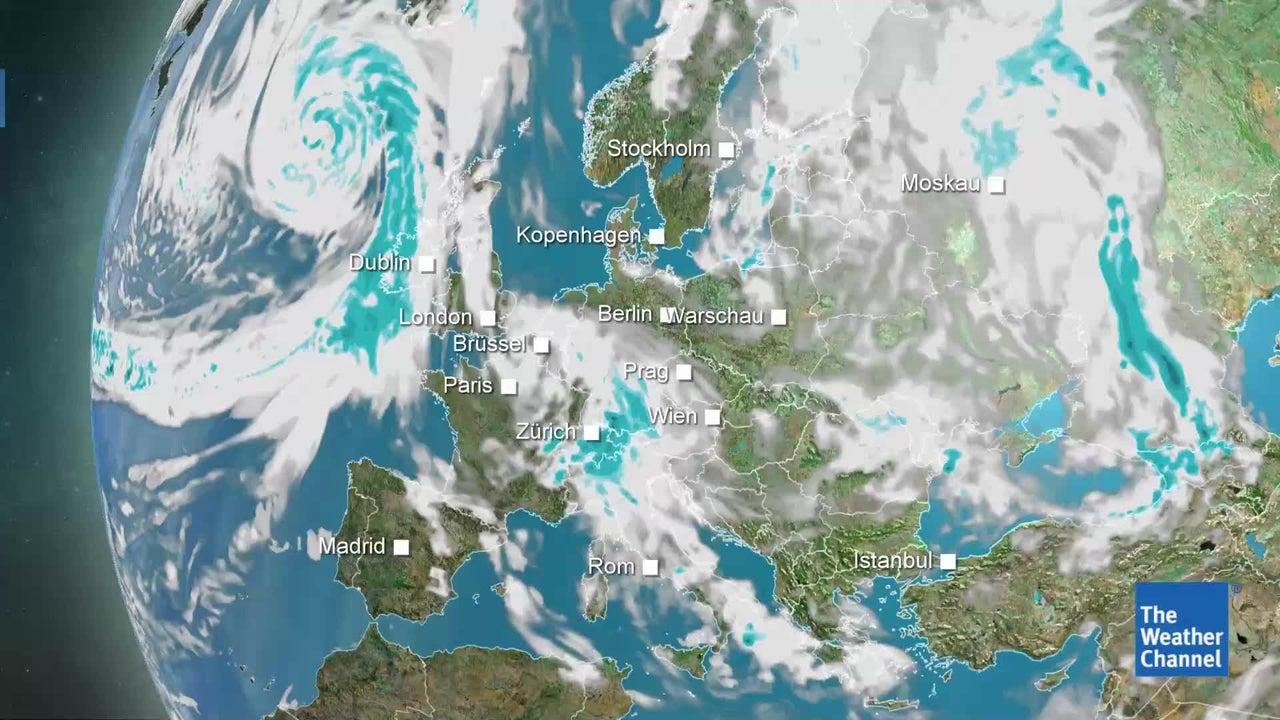 Dauerregen möglich: So wird das Wetter am Montag