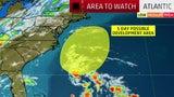 Tormenta podría podría afectar partes de la costa este
