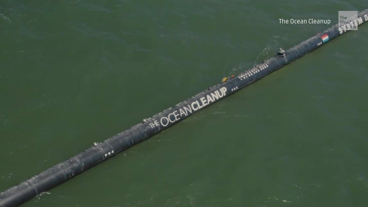 Ocean Cleanup Now Gobbling up Garbage
