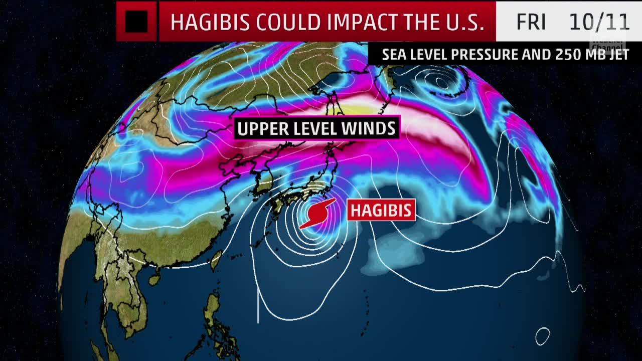 Hagibis Could Impact Weather in the U.S. Here's How
