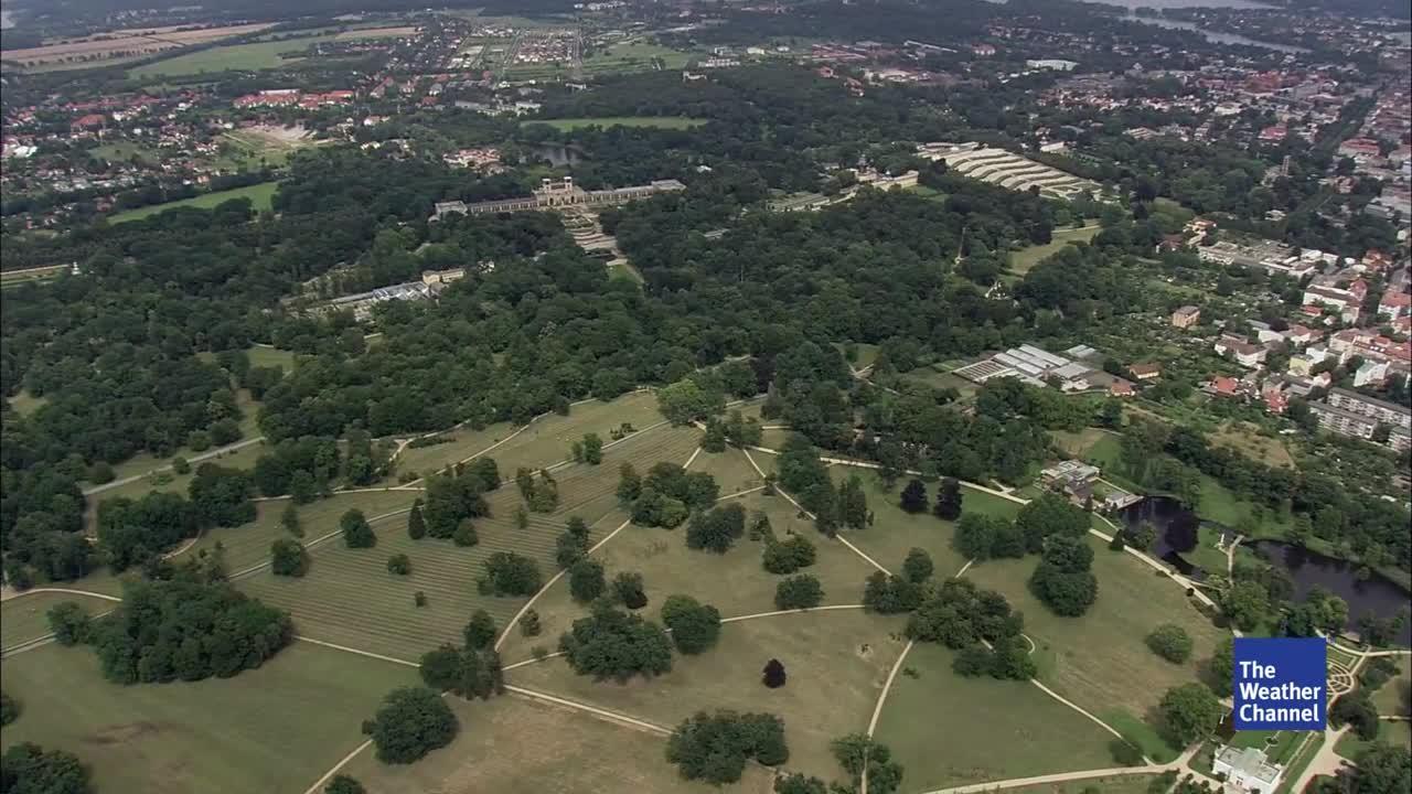 Die Trockenheit der vergangenen Jahre hat überall in Deutschland Spuren hinterlassen. Park Sanssouci muss nun aufgrund herabfallender Äste teilweise gesperrt werden.