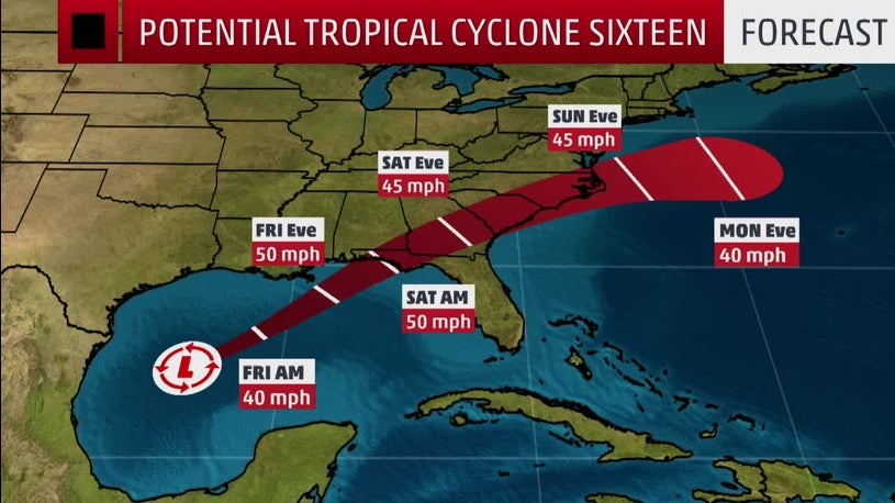 Tropical Storm Watches and Warnings Issued Ahead of Tropical System