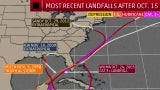 How Rare Is a Tropical System's U.S. Landfall This Late in Season?