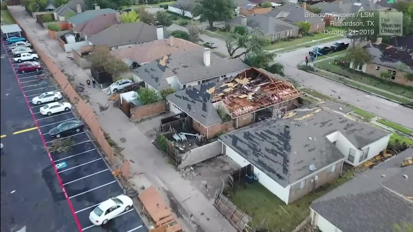 Severe Storms Kill 4 in South, Dallas in Disarray