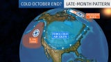 Jet Stream Change Ushers Cold End to October