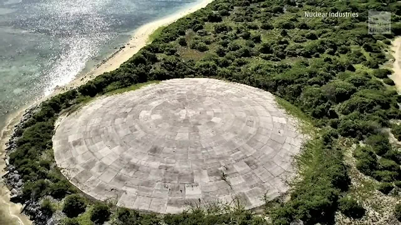 Sea Level Rise Threatens Nuclear Burial Site on Marshall Islands