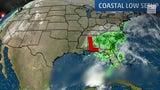 Posible inundación costera se espera en las Carolinas