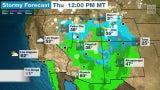 Lluvias traerán alivio al suroeste