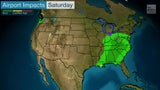 Lluvia y nieve impactarían semana de Acción de Gracias