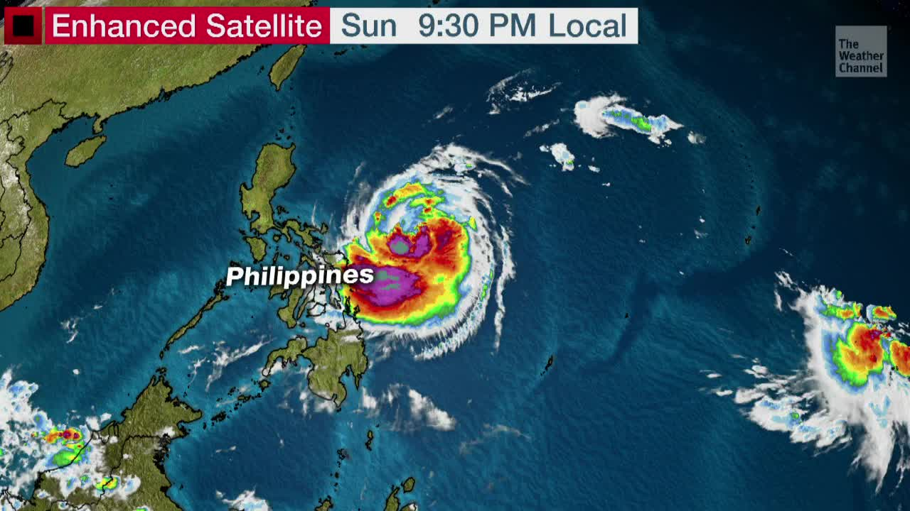 Philippines Bracing for Typhoon Kammuri