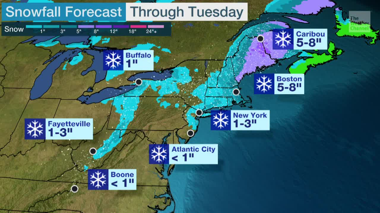 Winter Storm Persists in Northeast
