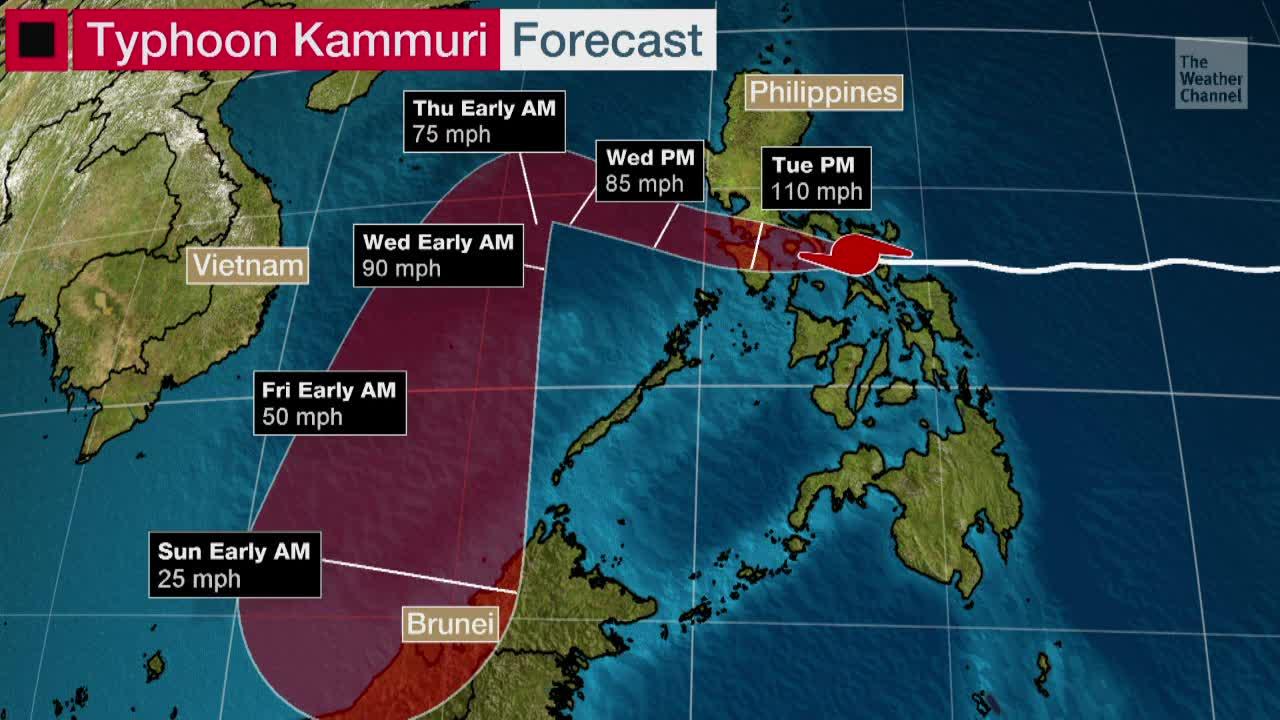Typhoon Kammuri (Tisoy) Hammers the Philippines