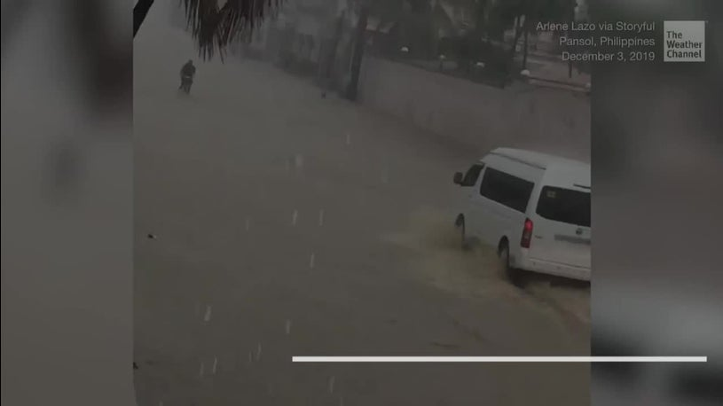 Philippines Battered by Typhoon Kammuri
