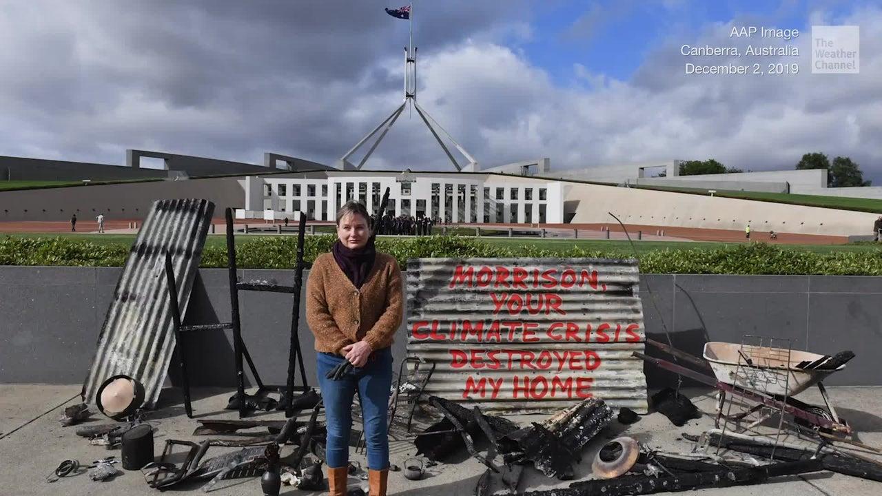 Furiosa protesta contra el cambio climático