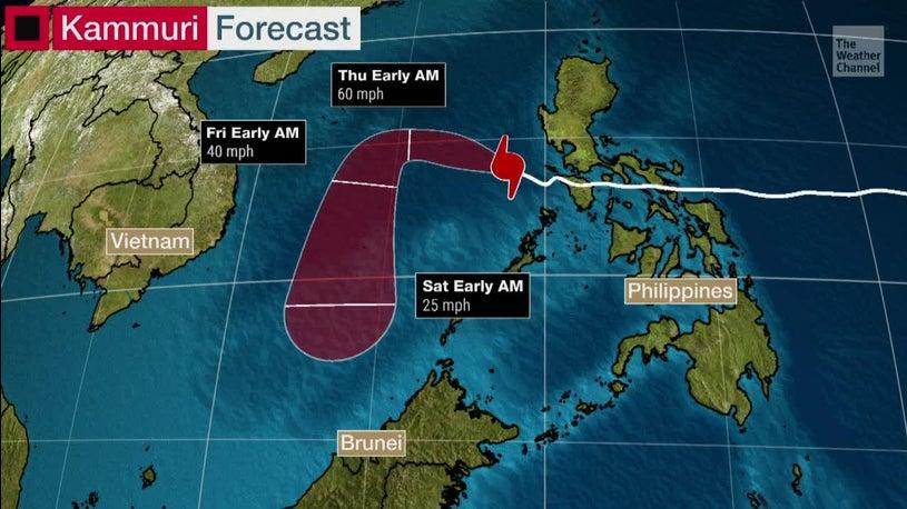 Typhoon Kammuri Slams Philippines, 4 Dead