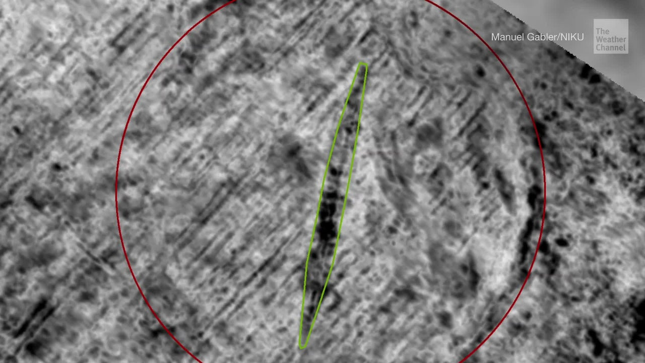 Archaeologists using ground-penetrating radar have detected the remains of a massive Viking ship buried on a Norwegian island — one of only four well-preserved ships of its kind to have been found in Norway.