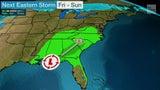Lluvia recorrerá desde el Golfo hasta el noreste