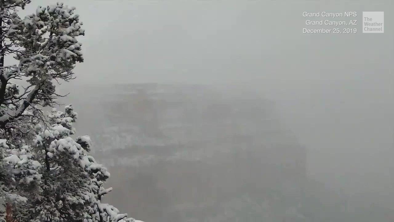 العلامة Grand Canyon Weather December أفضل الصور