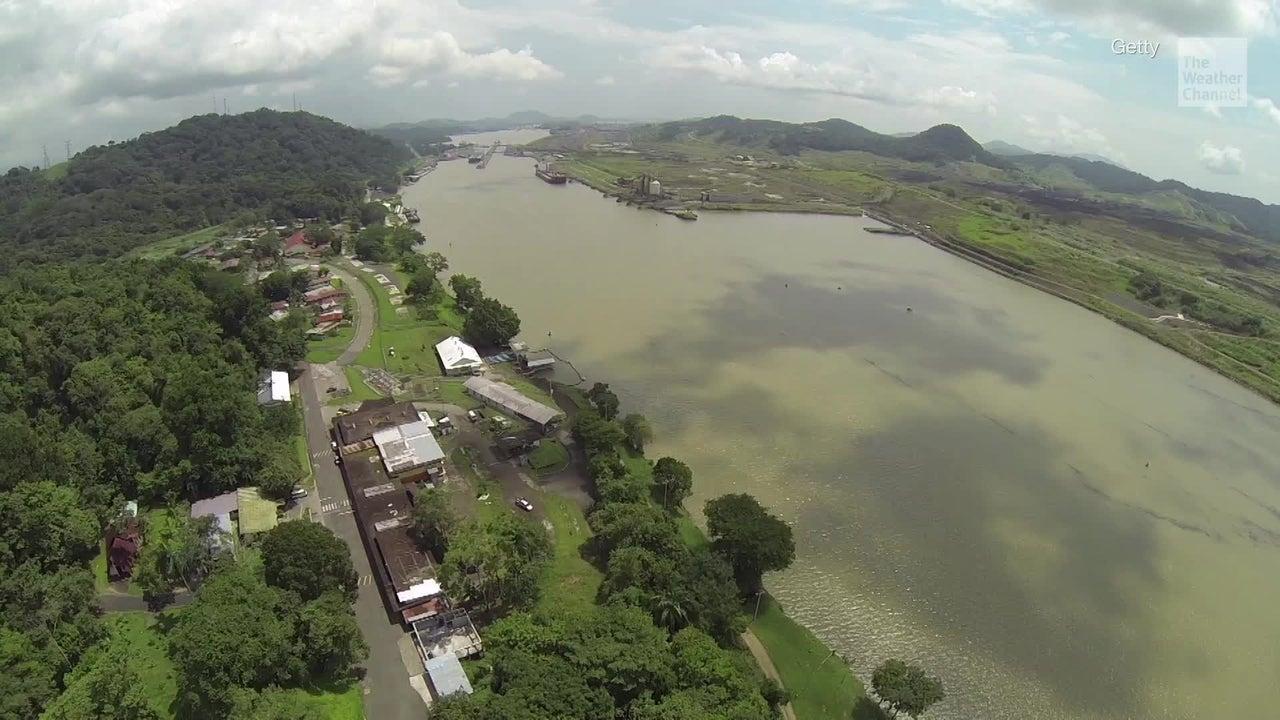 Sequía y cambio climático amenazan Canal de Panamá