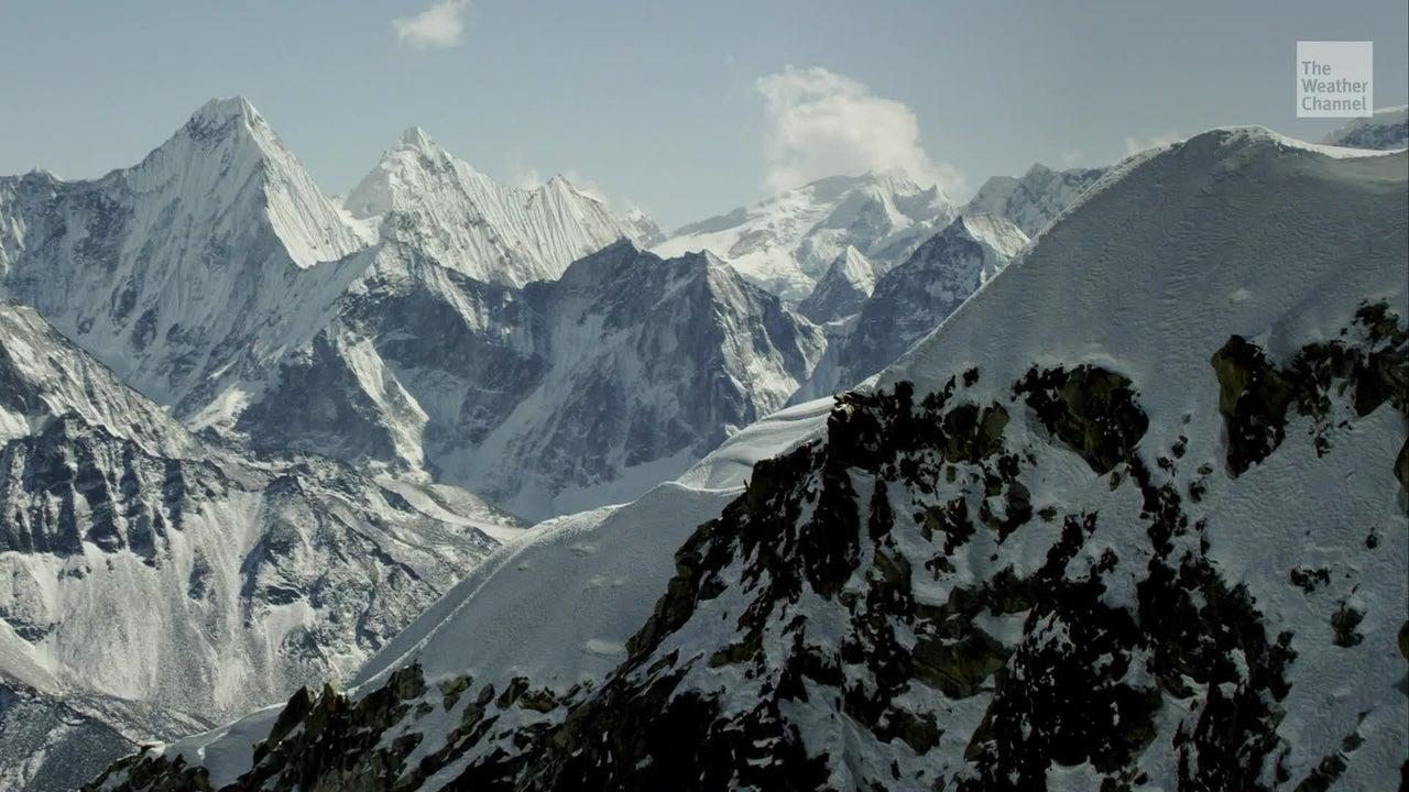 Plants Growing 20,000 Feet Up Mt. Everest