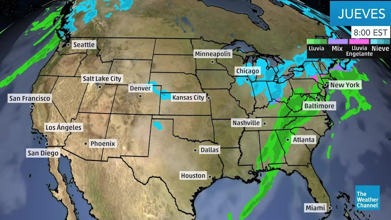 Breve y poderoso frente frío afectará el país