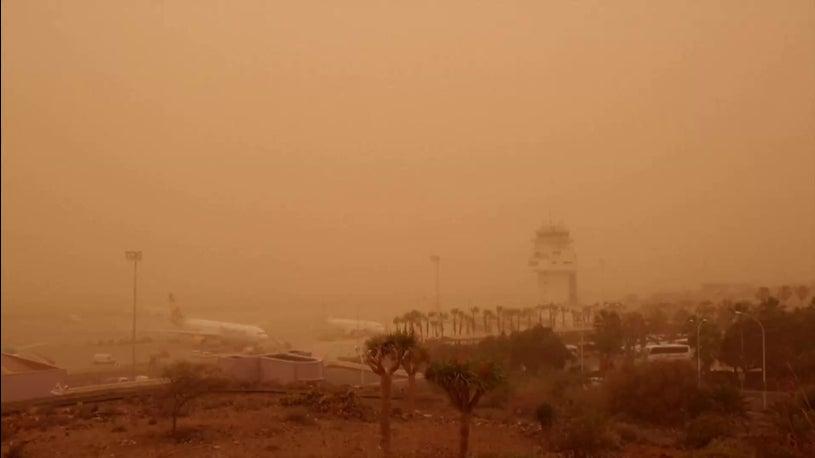 Sandsturm Kanaren