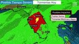 Tormentas y frío azotarán a Florida