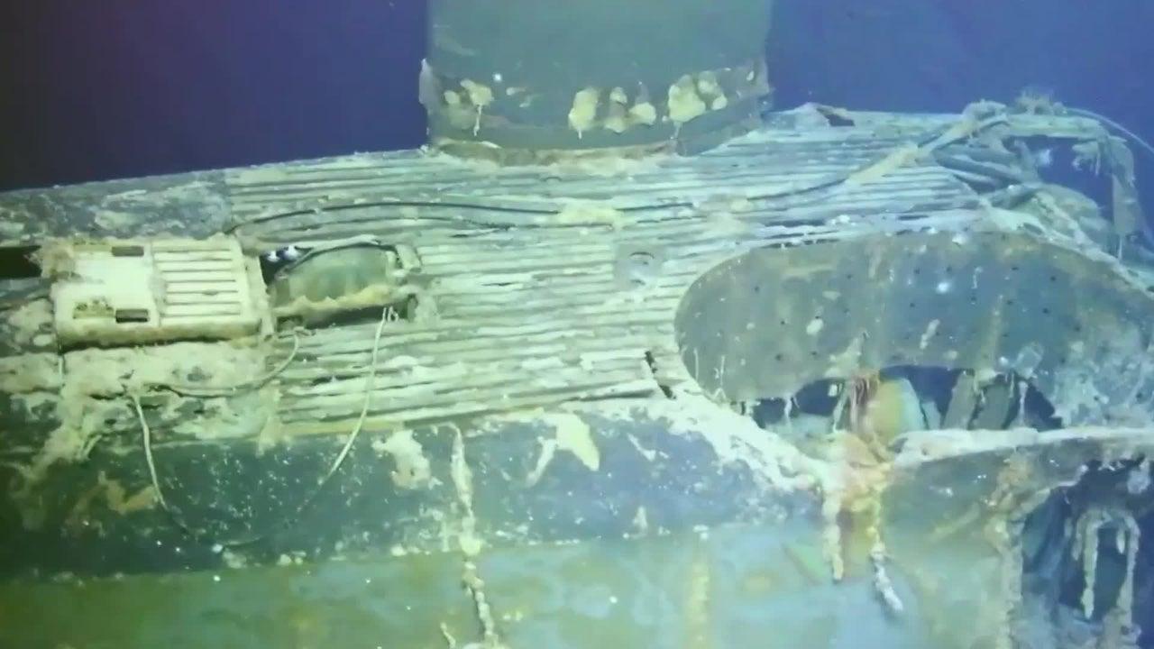 Lost Cold War Submarine Found