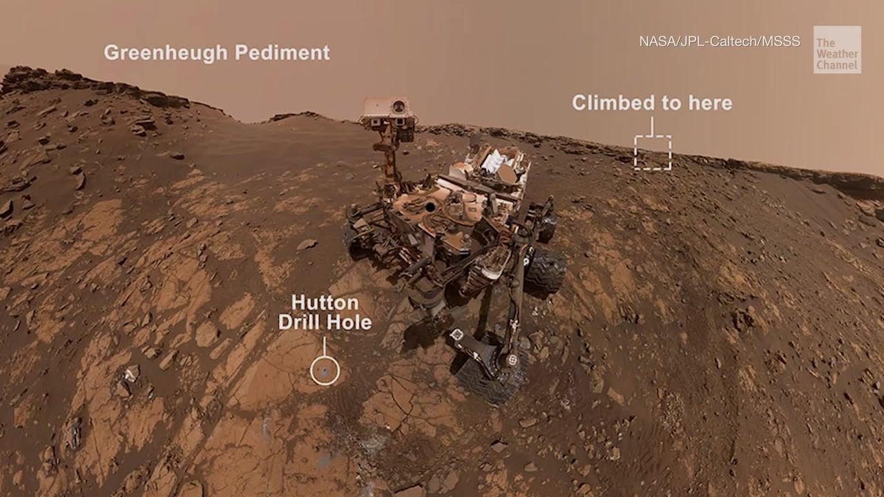 NASA's Curiosity Mars Rover Completes Record-Breaking Climb