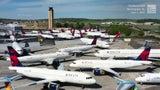 Cementerio de aviones durante la pandemia