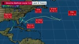 May Is No Stranger to Tropical Weather in the Atlantic