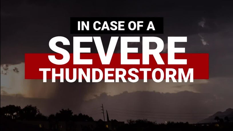 Tips to Stay Safe During Severe Thunderstorm