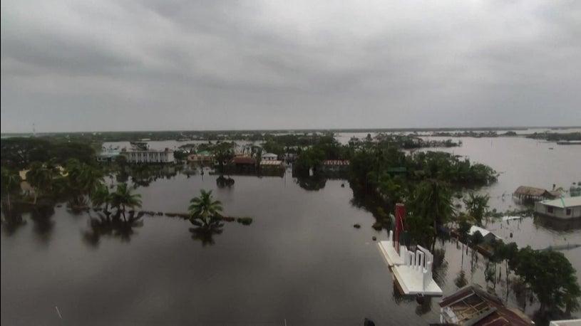 Flooding Nightmare in Bangladesh Week after Cyclone Amphan