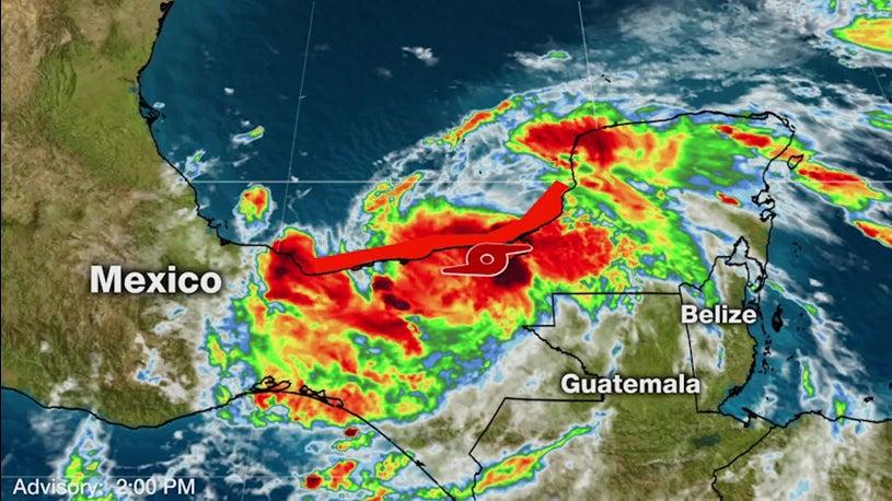 Tropical Storm Cristobal a U.S. Gulf Coast Threat