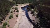 Vom Stausee zum Rinnsal: Hier sind Millionen Liter Wasser verschwunden