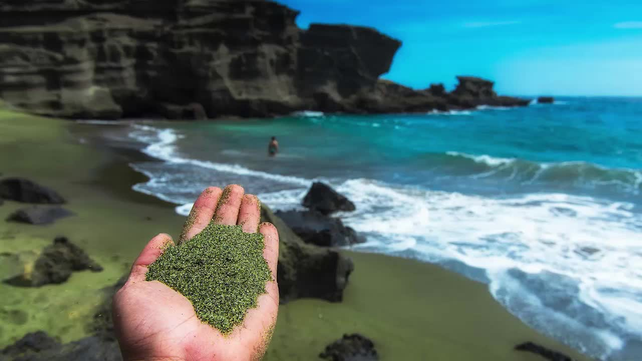 How Green Beaches Could Save the Planet