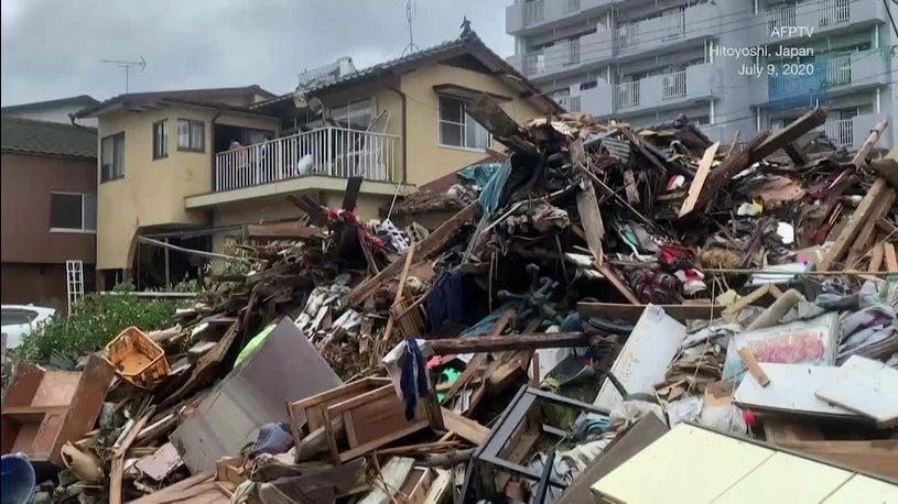 Death Toll Rises as Japan Flooding Continues