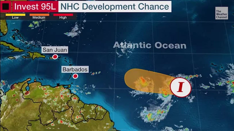 Tropical Development  Possible in the Atlantic