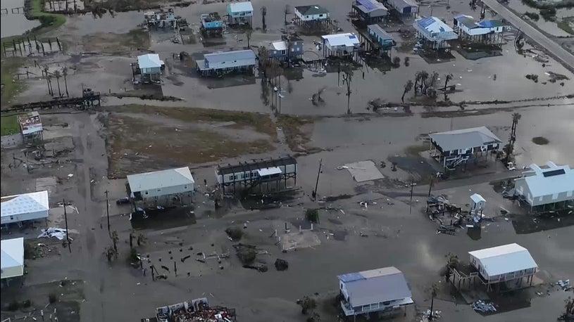 What Grand Isle Looks Like Two Weeks After Hurricane Ida