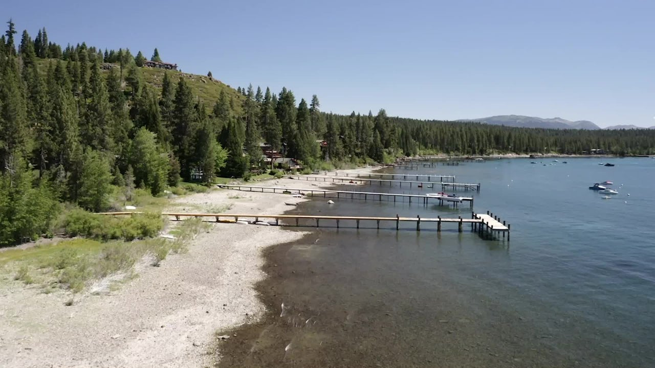 Lake Tahoe Water Level Drops to Four-Year Low