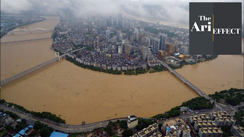 Hundreds Killed in China Flood